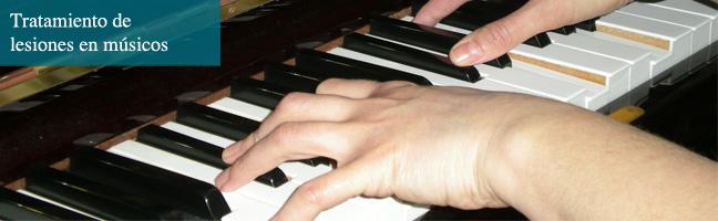 Tratamiento de lesiones en músicos