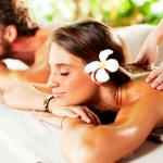 Desconectar con un masaje.