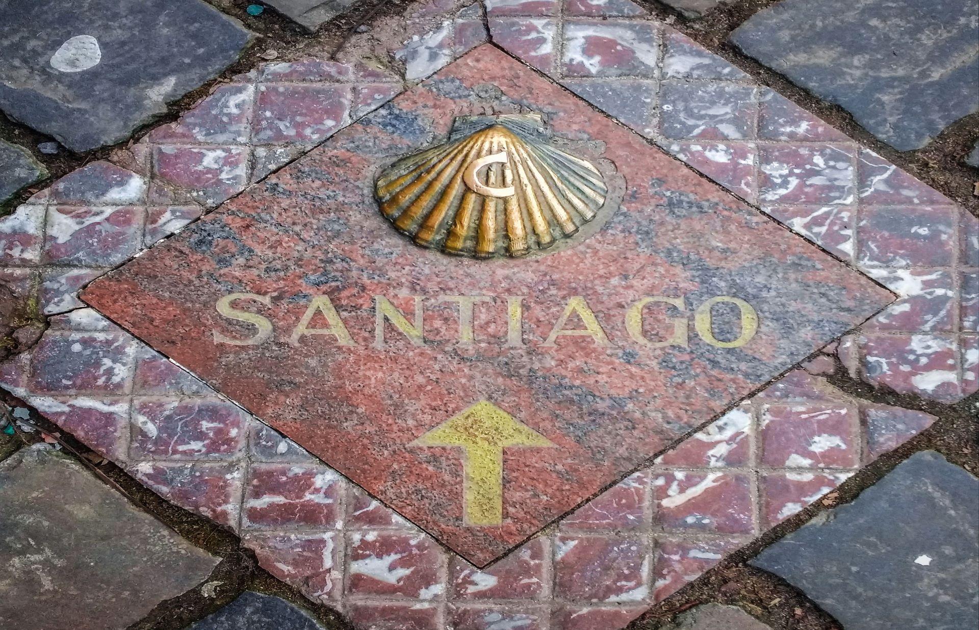 ¿Estás haciendo el camino de Santiago?
