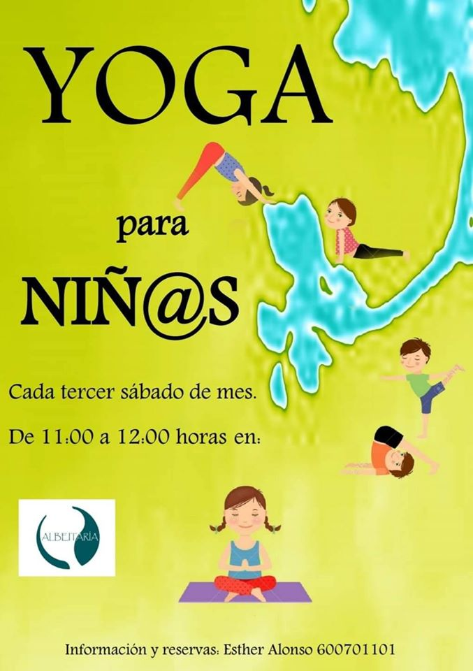 Yoga para niños con Esther Alonso